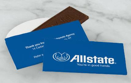 Personalized Business Boxed Bars