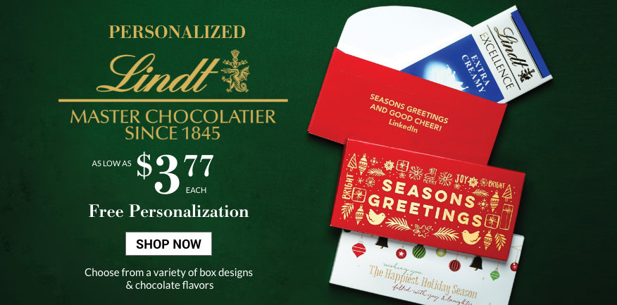 Introducting Personalized Lindt Chocolate Bars