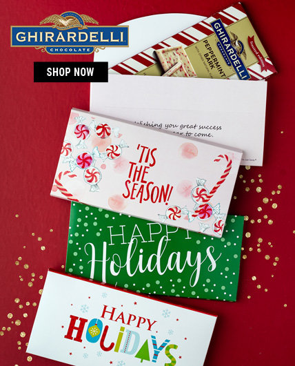 Personalized Ghirardelli Chocolate Bars