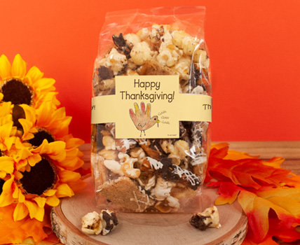 Thanksgiving Popcorn Favors