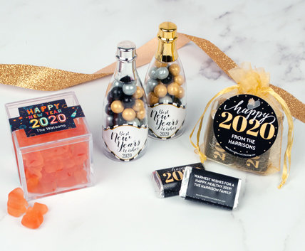 Personalized New Years Eve Party Favors