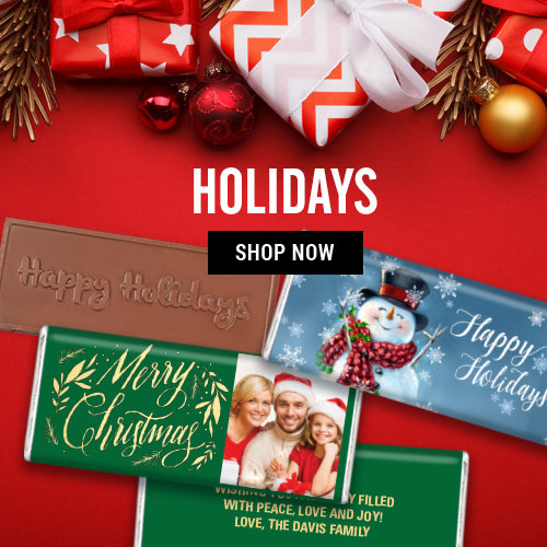 Shop Holiday Personalized Favors