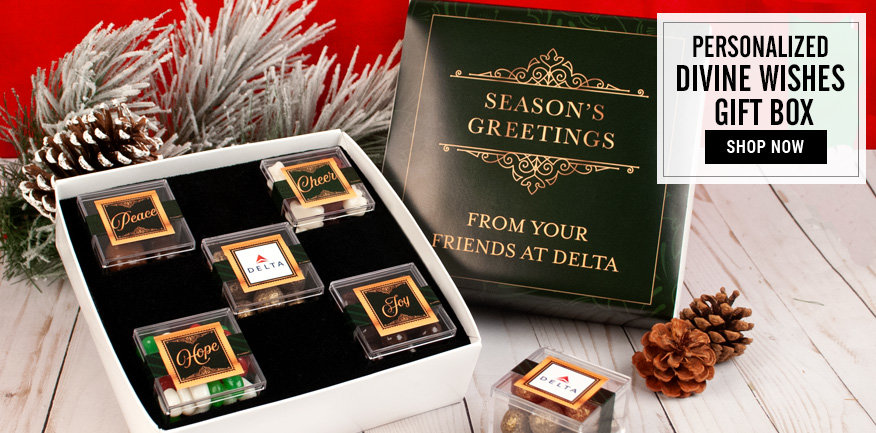 Personalized Lindt Chocolate Bar and Candy Cubes