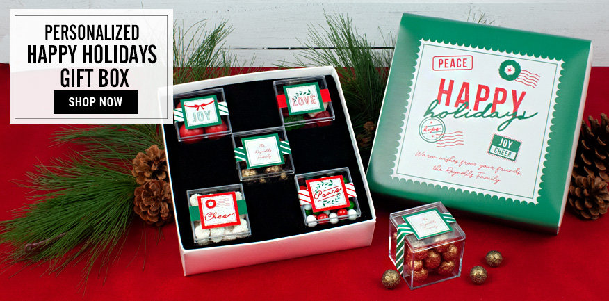 Shop Personalized Candy Cube Gift Box