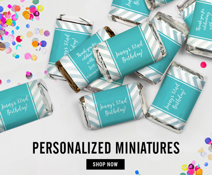 Personalized Hershey's Miniatures