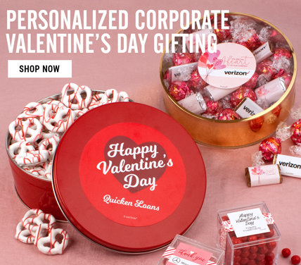 Personalized Corporate Valentine's Day