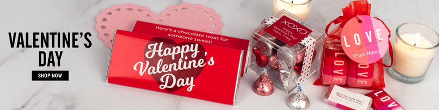 Personalized Favors for the Valentine's Day