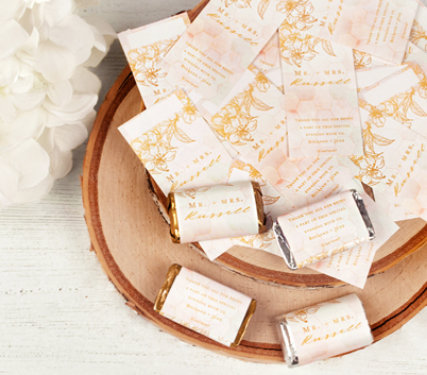 Personalized Hershey's Miniature Wrappers