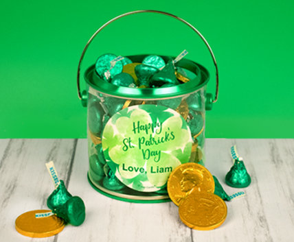 St. Patrick's Day Candy Filled Gifts