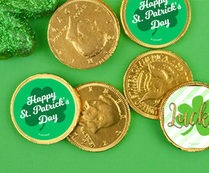 Shop Pattys Day Chocolate Coins
