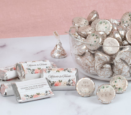 Personalized Wedding Miniatures & Kisses