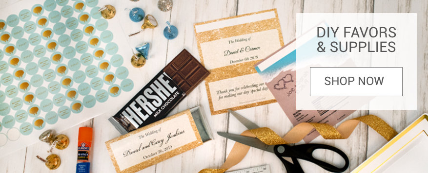 DIY Wedding Favors & Supplies