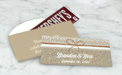 Personalized Wedding Standard Chocolate Boxes