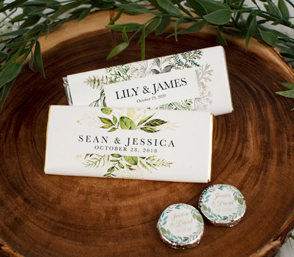 PERSONALIZED BOTANICAL WEDDING THEME