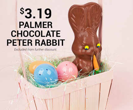 Palmer Chocolate Peter Rabbit