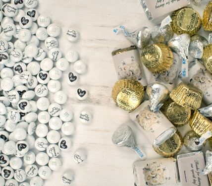 PERSONALIZED WEDDING BULK CANDY