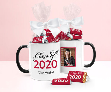 Personalized Red Graduation