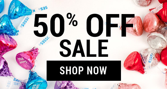 50% Off valentine's Sale