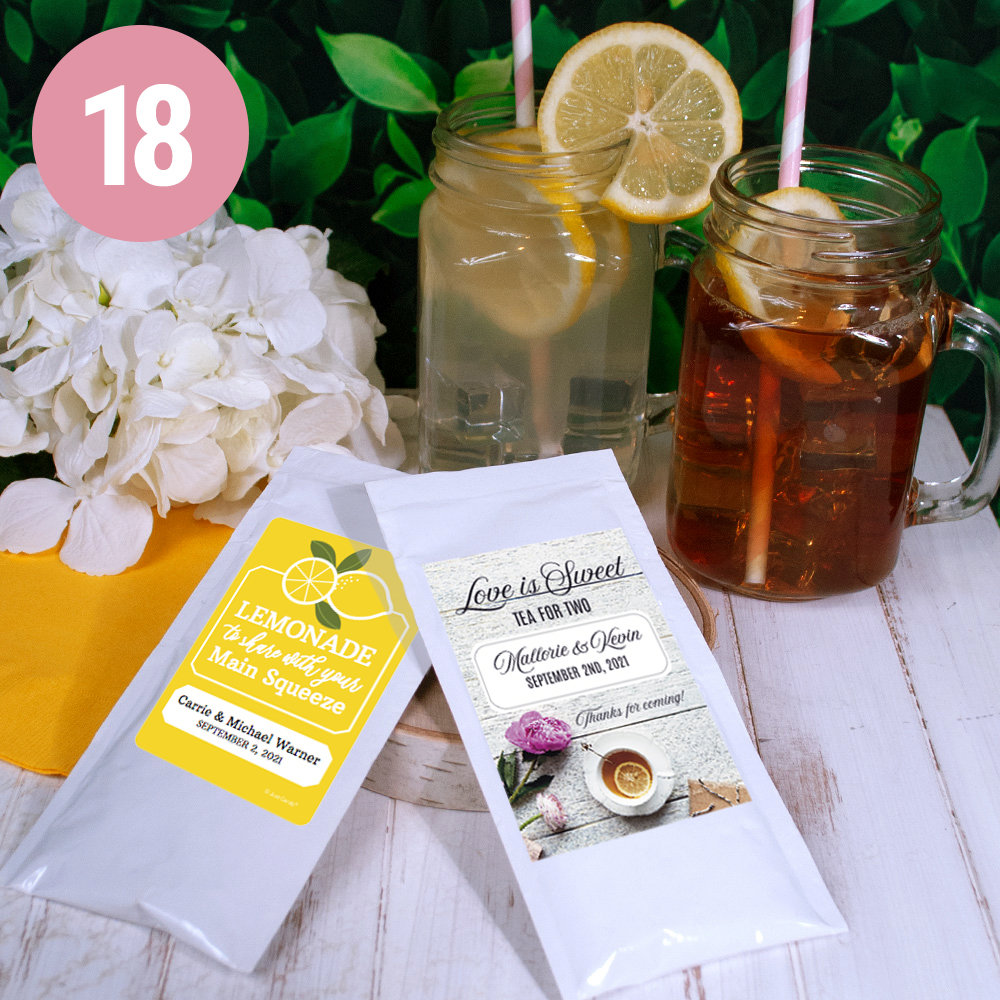 PERSONALIZED WEDDING DRINK MIXES