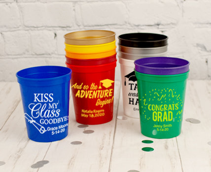 Shop Personalized Stadium Cups