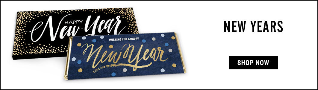 Personalized New Years Wrappers & Box Covers