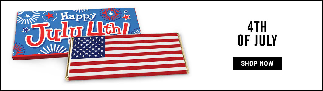 Personalized 4th of July Wrappers & Box Covers