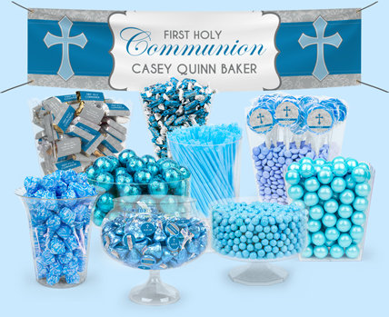 Personalized First Holy Communion Candy Buffets