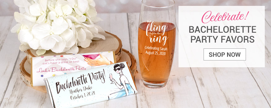 Shop Bachelorette Party Wedding Favors