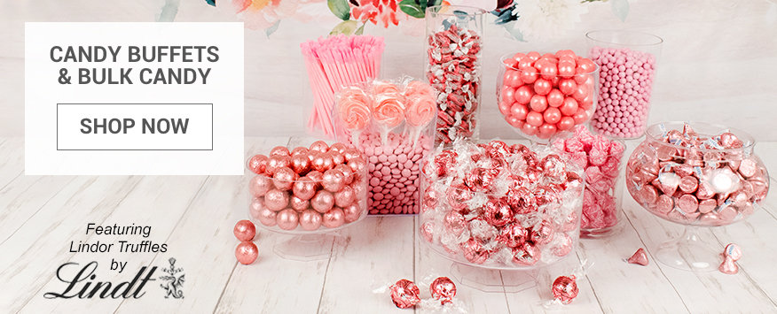 Personalized Candy Buffets & Bulk Candy