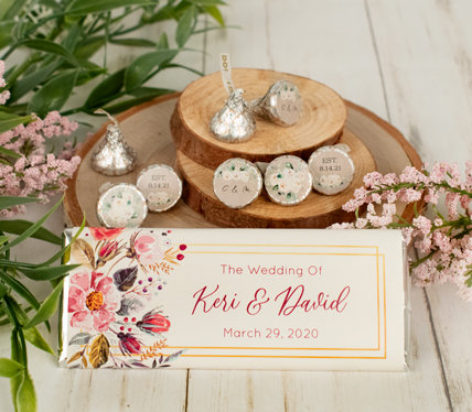 PERSONALIZED boho WEDDING THEME