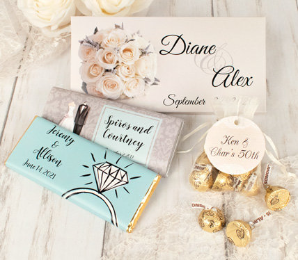 personalized classic wedding favors