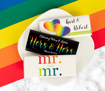 PERSONALIZED LGBTQ wedding favors