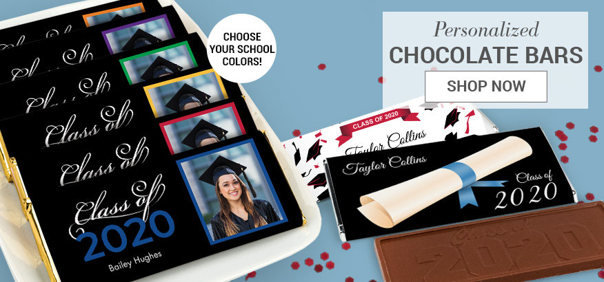 Shop Graduation Chocolate Bars