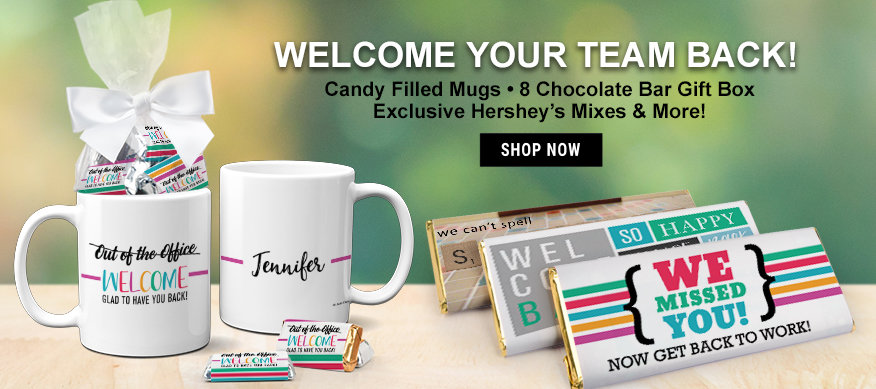 Welcome Back Candy Gift Items