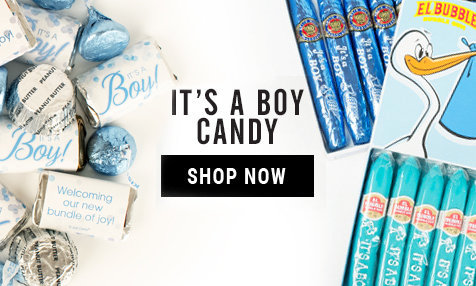 It's a boy bulk candy