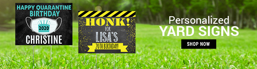 Personalized Birthday Yard Signs