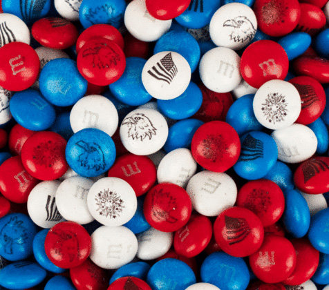 4th of July Patriotic Bulk Candy