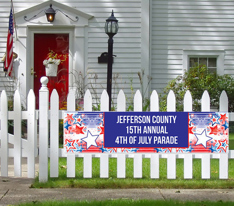 4th of July Patriotic Banners