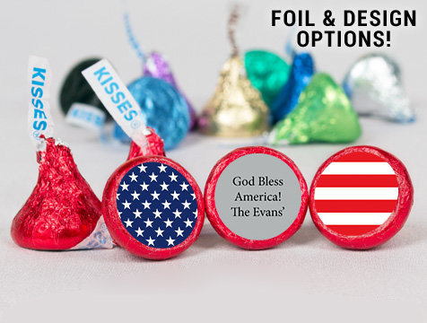 Personalized and Assembled Hershey's Kisses