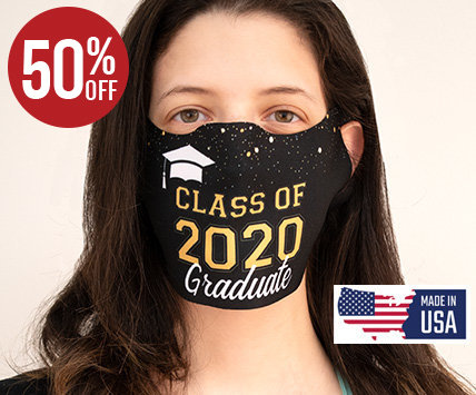 GRADUATE FACE MASKS