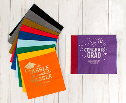 Shop Personalized Graduation Napkins