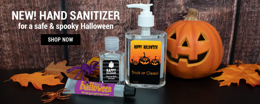 Halloween Hand Sanitizer