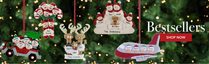 Personalized Best selling Christmas Ornaments