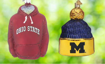 Personalized College & University Christmas Ornaments