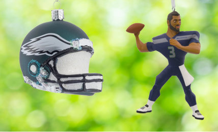 Personalized NFL Christmas Ornaments