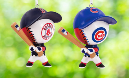 Personalized MLB Christmas Ornaments