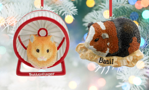 Personalized Small Pet ChristmasOrnaments