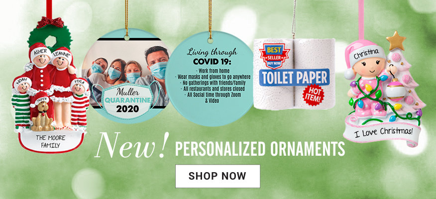 Personalized Holiday Ornaments