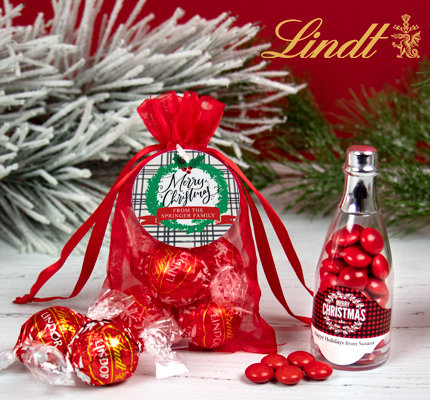 Personalized Holiday & Christmas Candy Favors