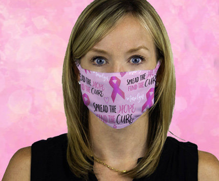 Breast Cancer Awareness Face Masks